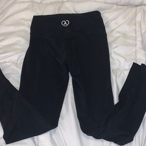 Aritzia cotton full length leggings size small